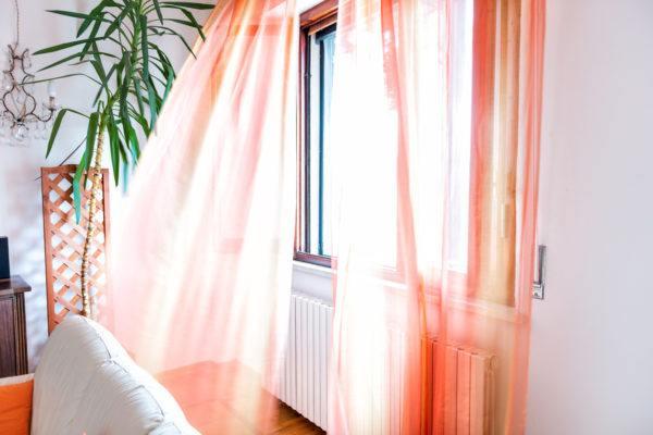 Como hacer cortinas salon modernas rosas
