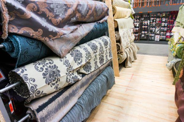 Como hacer cortinas salon tela