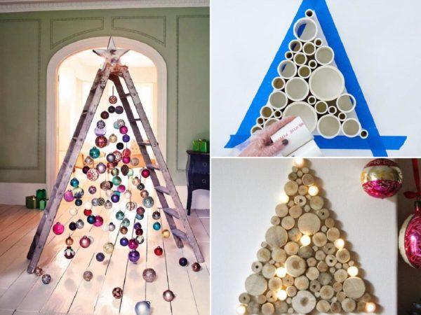Cómo hacer un árbol de navidad con material reciclado portada