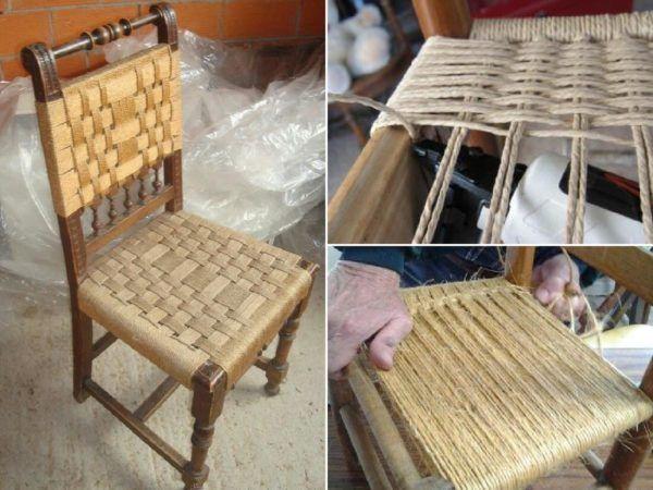 Cómo se hace una silla de cuerdas portada
