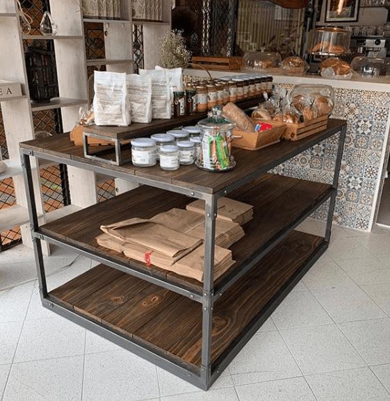 Ideas para la Decoración Industrial Vintage 2020 palets madera