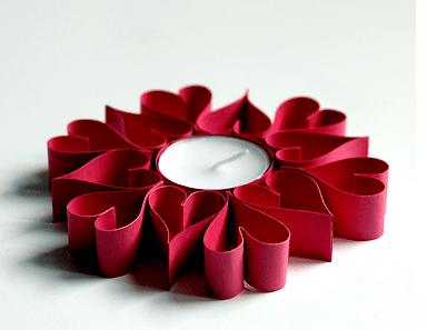 20 ideas para hacer manualidades con rollos de papel adultos portavelas