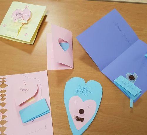 Tarjetas de corazón