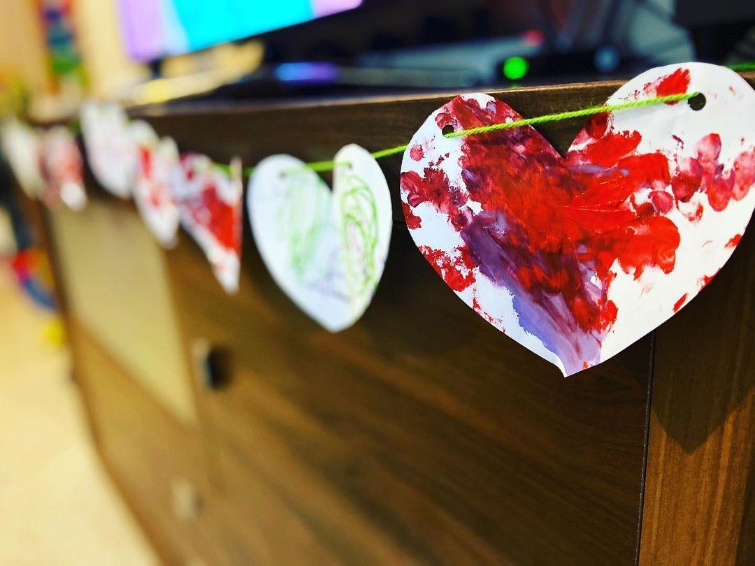 Guirnaldas de corazones