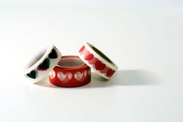 Manualidades para san valentin para ninos washi tapes