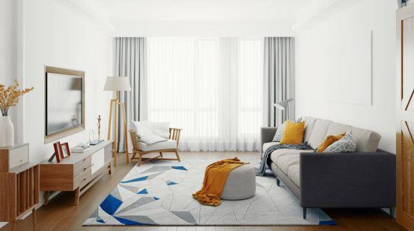 Mejores consejos decorar piso pequeno alfombra