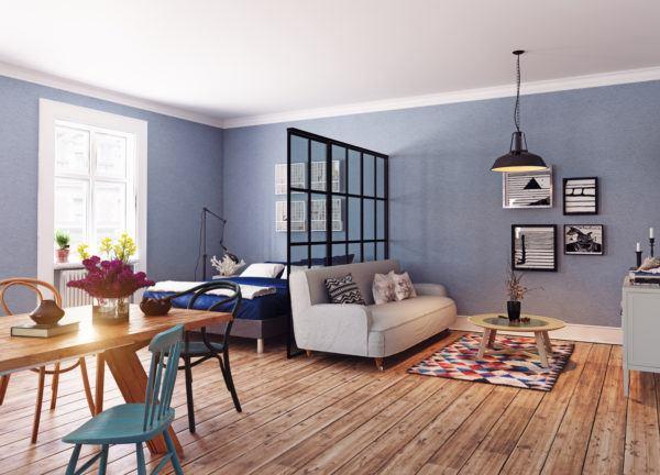 Mejores consejos decorar piso pequeno separar espacios