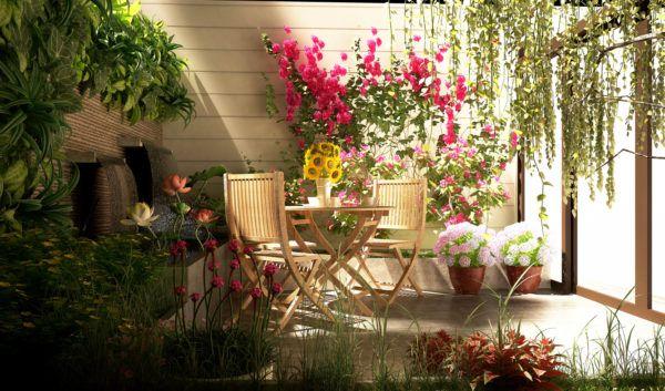 Mejores trucos para jardin pequeno parezca grande crea profundidad espacio