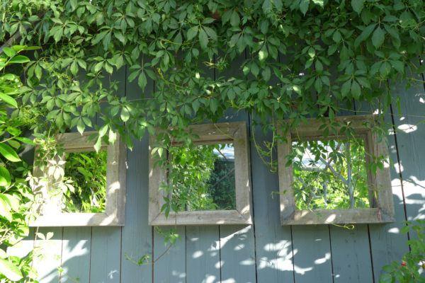 Mejores trucos para jardin pequeno parezca grande espejo