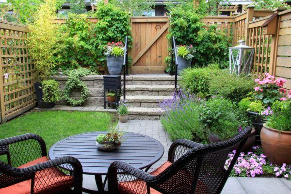Mejores trucos para jardin pequeno parezca grande muebles prudencia