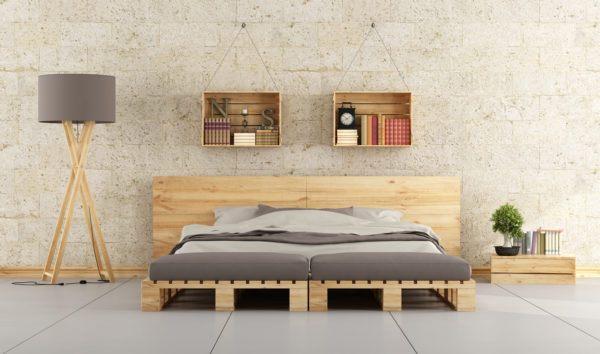 Hacer cama con palet