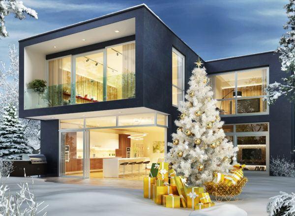 Mejores fotos ideas para fachadas casas minimalistas color azul