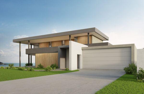 Mejores fotos ideas para fachadas casas minimalistas grande