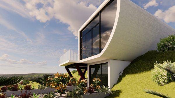 Mejores fotos ideas para fachadas casas minimalistas pieza sobresaliente