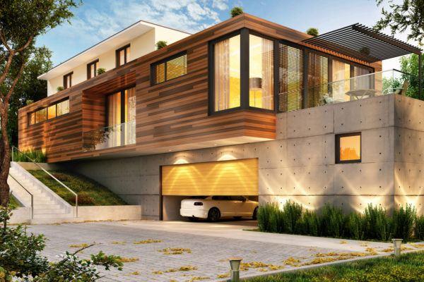 Mejores fotos ideas para fachadas casas modernas fachada casa moderna madera
