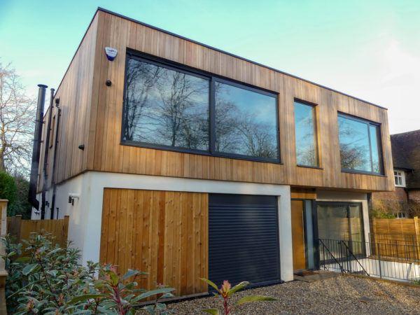 Mejores fotos ideas para fachadas casas modernas madera cedro