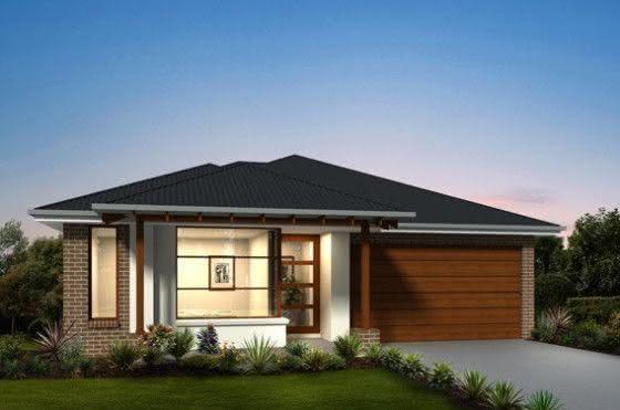 Mejores fotos ideas para fachadas casas pequenas Fachada con tela de vidrio combinando colores como el gris y el marrón.