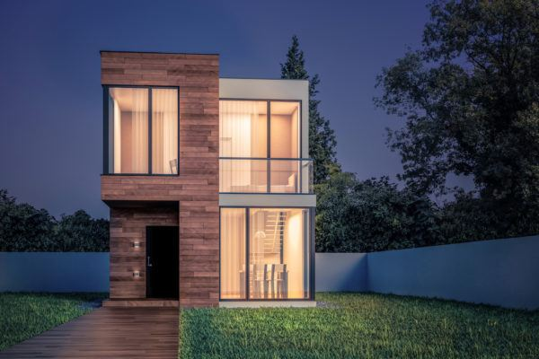 Mejores fotos ideas para fachadas casas pequenas casa pequeña