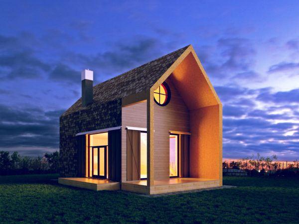 Mejores fotos ideas para fachadas casas pequenas techo moderno