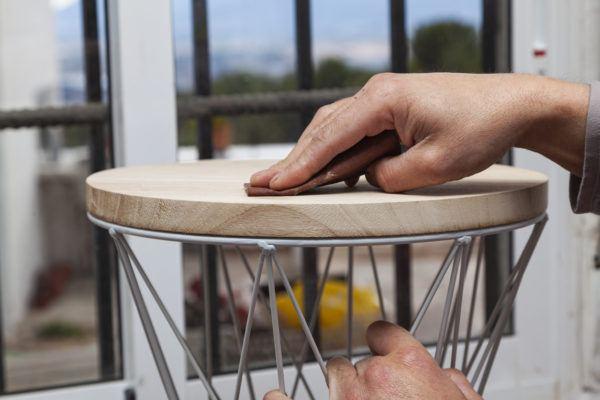 Mejores ideas para hacer muebles madera reciclada taburete