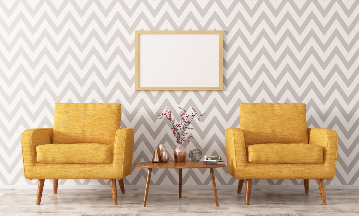 Como decorar paredes casa con papel pintado detalle