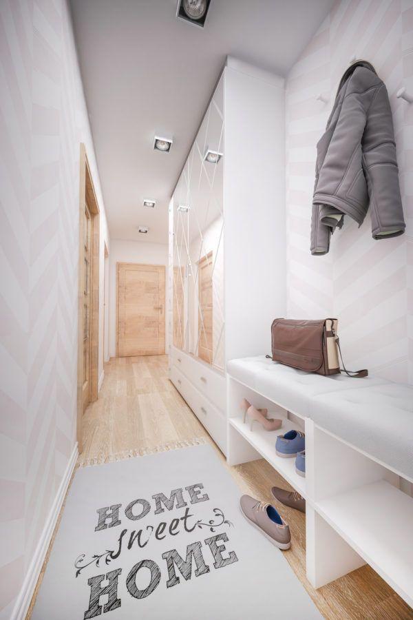 Como decorar pasillo largo estrecho alfombra