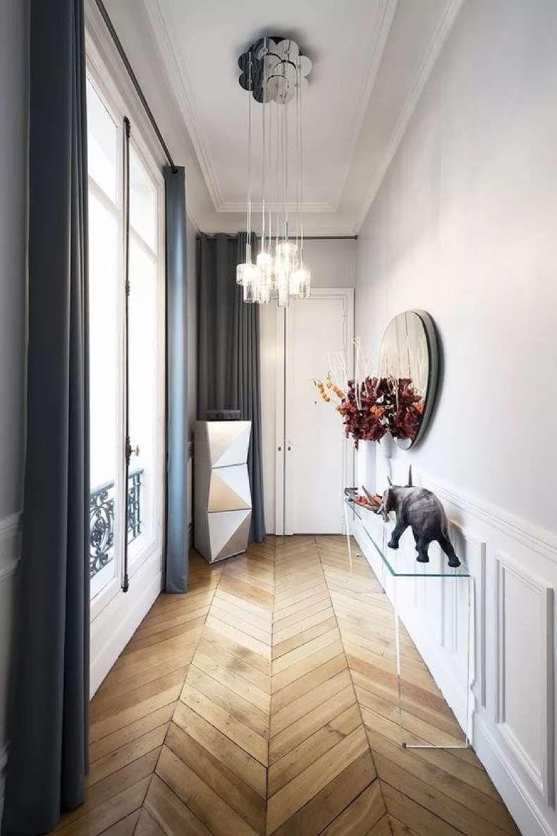 Como decorar un pasillo estrecho junto balcon