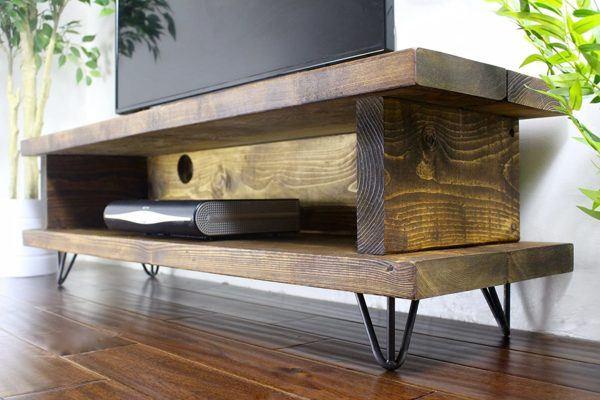 Ideas consejos para hacer muebles rusticos con madera mueble televisor