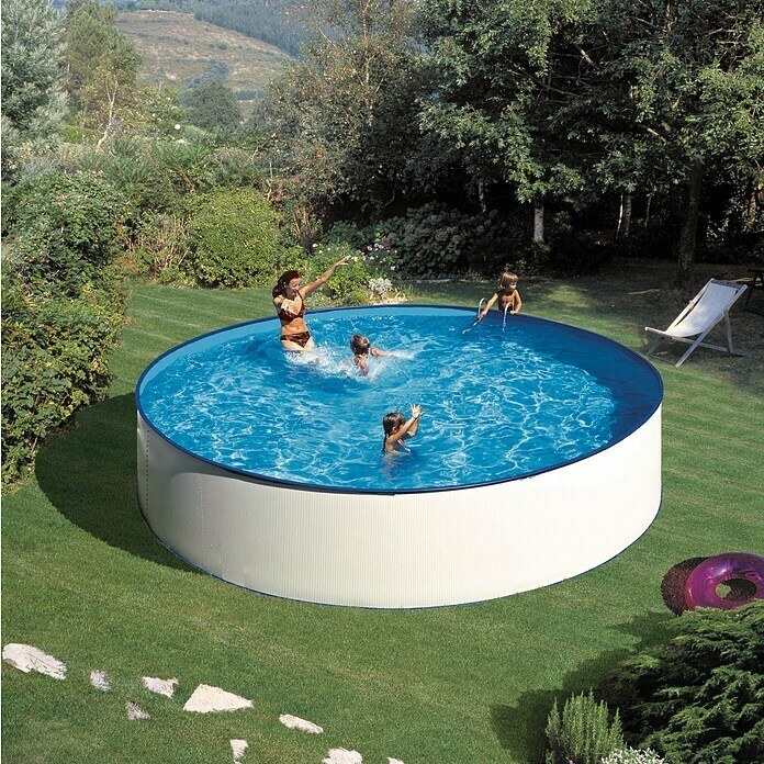 Catalogo bauhaus jardin PISCINAS Gre Piscina circular desmontable Lanzarote