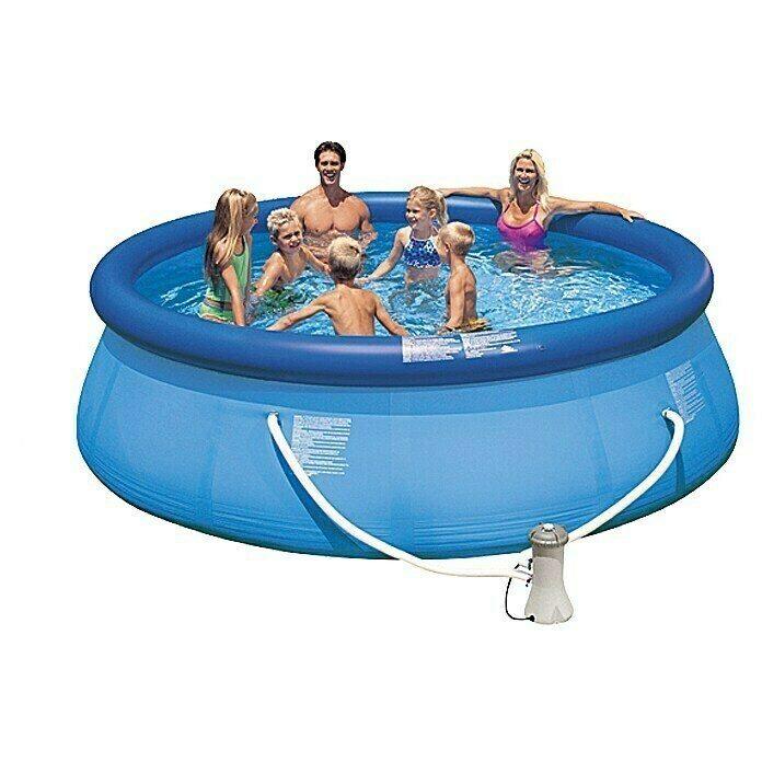 Catalogo bauhaus jardin PISCINAS Intex Set piscina fácil