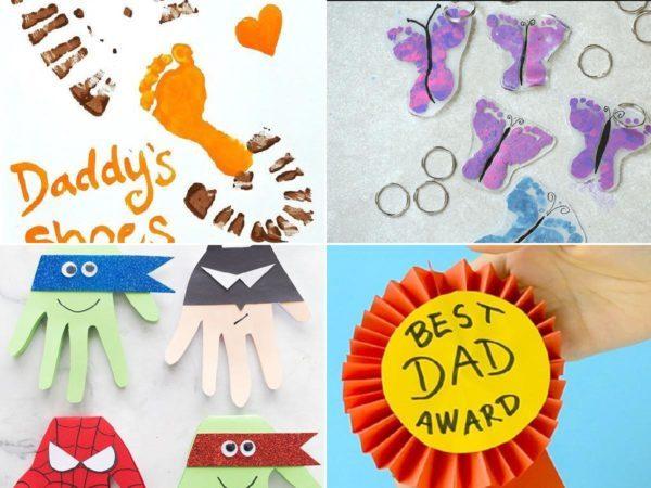 Manualidades para el día del padre 2021 | Preescolar portada