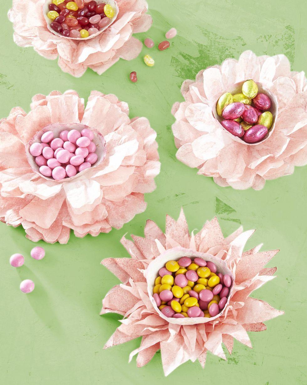 Manualidades fáciles Día de la Madre para niños flores de filtro de café