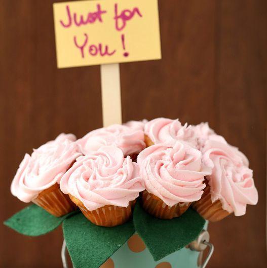 Las mejores ideas para decorar la casa en el Día de la Madre minicupcakes