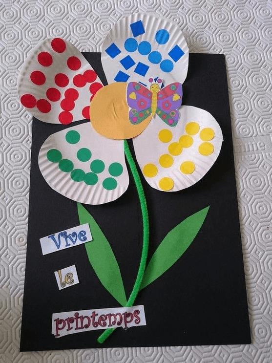 Los mejores regalos para el Día de la Madre con cartulinas margarita de colores