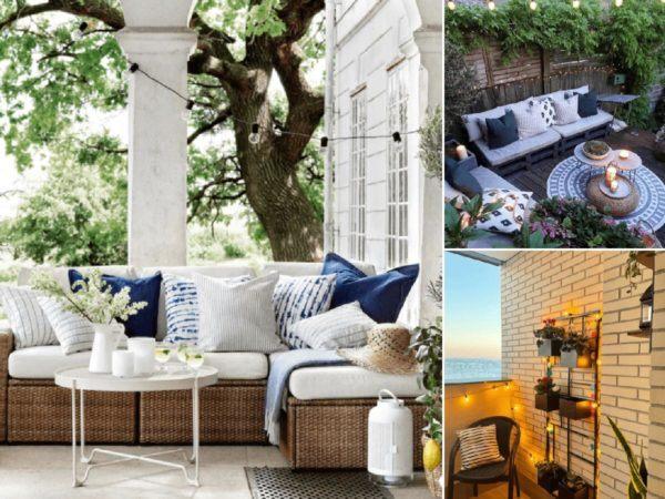 30 Ideas para decorar la terraza en Primavera Verano portada