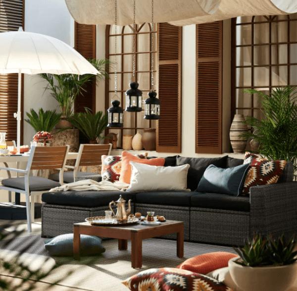 30 Ideas para decorar la terraza en Primavera Verano colonial