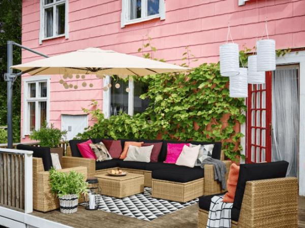 30 Ideas para decorar la terraza en Primavera Verano amplio