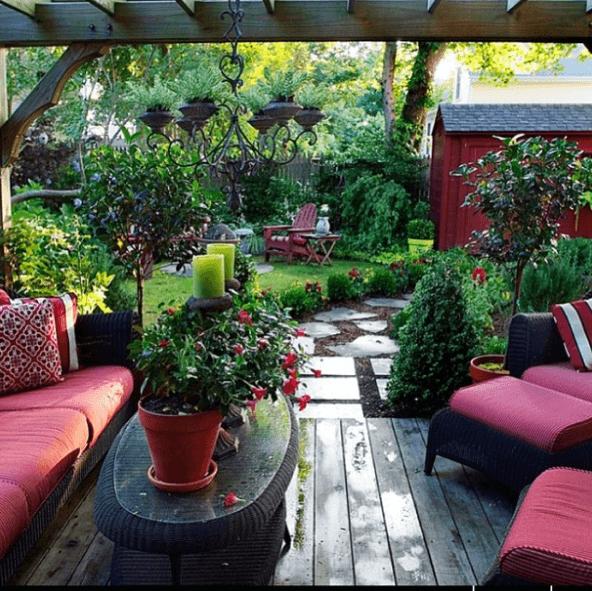 30 Ideas para decorar la terraza en Primavera Verano plantas