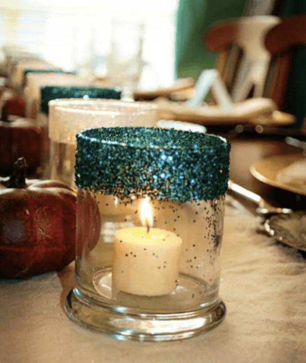 Ideas para reciclar - Reciclar ropa, botellas y envases vaso velas