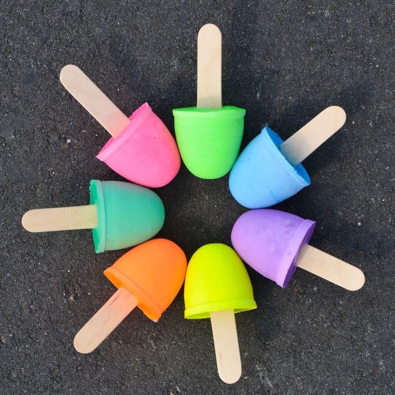 Manualidades fáciles de verano para niños helados plastilina