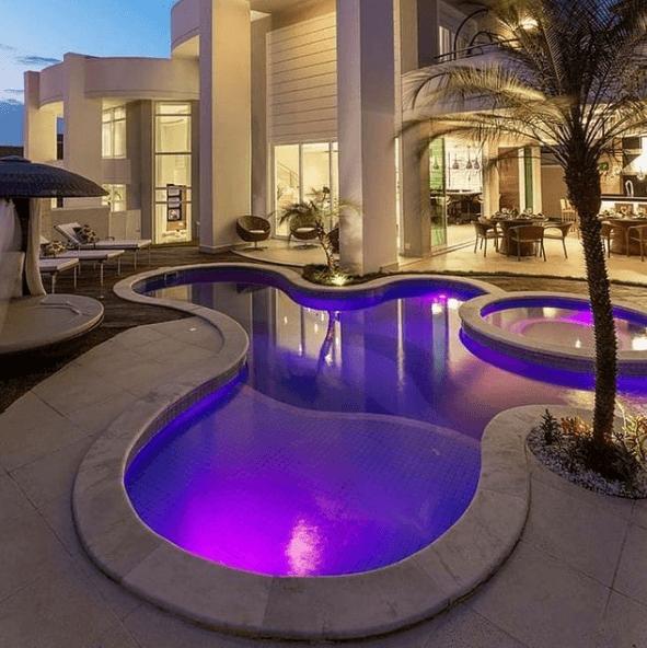 Los mejores consejos e ideas para decorar la piscina luces nocturnas