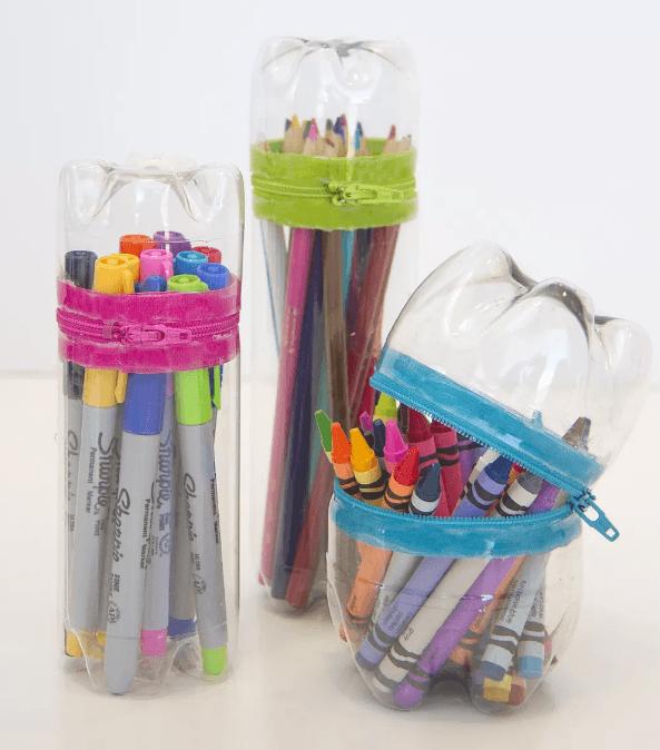 Las mejores manualidades con materiales reciclados para niños de 5 años estuche