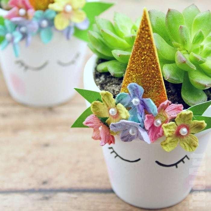 Las mejores manualidades con materiales reciclados para niños de 5 años unicornio