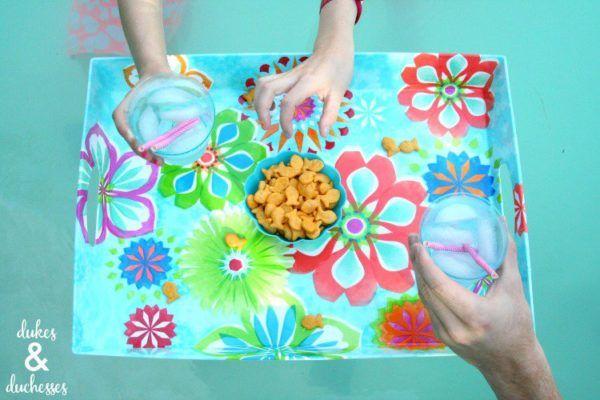 Las mejores ideas para hacer tus accesorios de piscina FOTOS bandeja