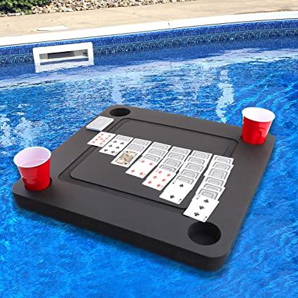 Las mejores ideas para hacer tus accesorios de piscina FOTOS colchoneta cartas