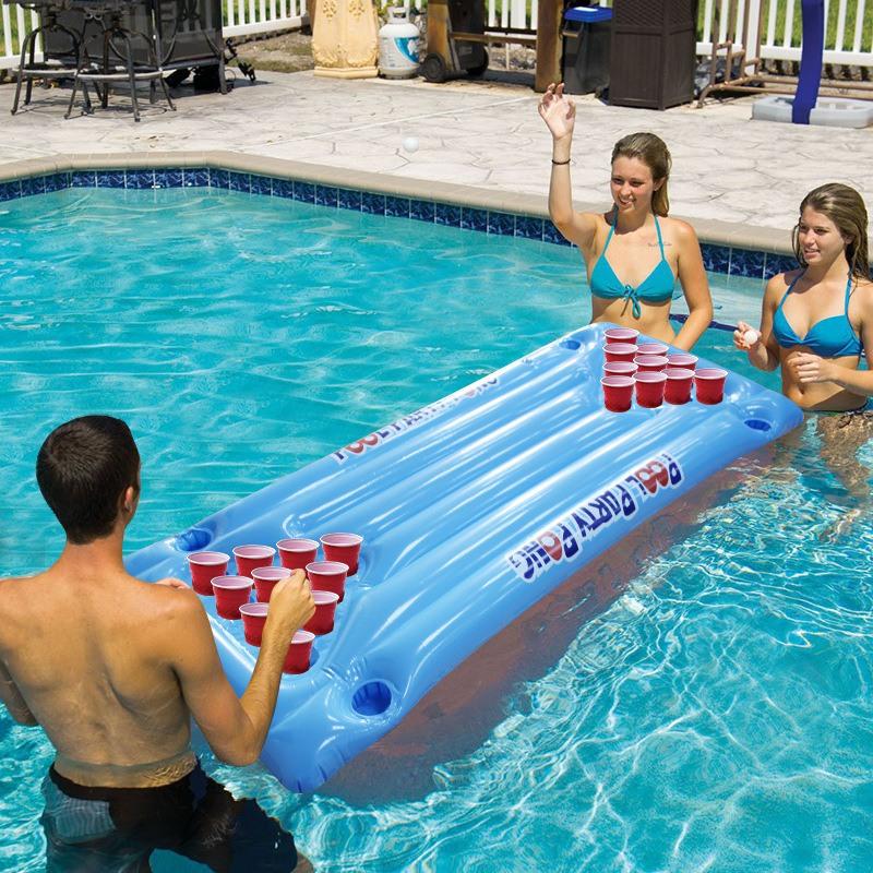 Las mejores ideas para hacer tus accesorios de piscina FOTOS colchoneta jugar