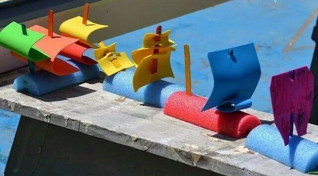 Las mejores ideas para hacer tus accesorios de piscina FOTOS juguetes niños