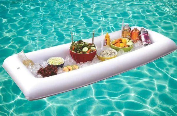 Las mejores ideas para hacer tus accesorios de piscina flotador bandeja