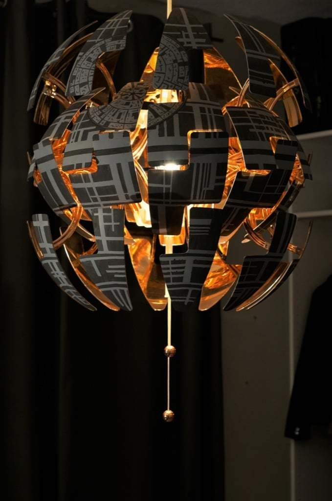 Lámpara IKEA PS 2014 Estrella de la Muerte
