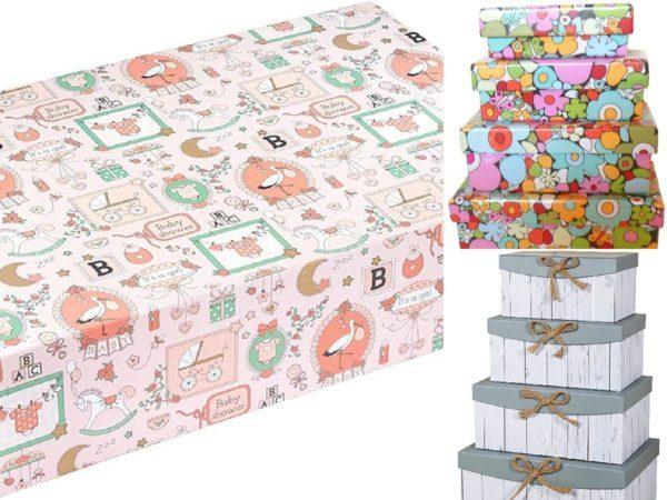 Cajas de cartón decoradas - Cajas de cartón decoradas para guardar la ropa portada
